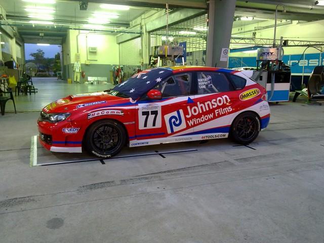 Sepang 12hr race Jim Hunter 2012