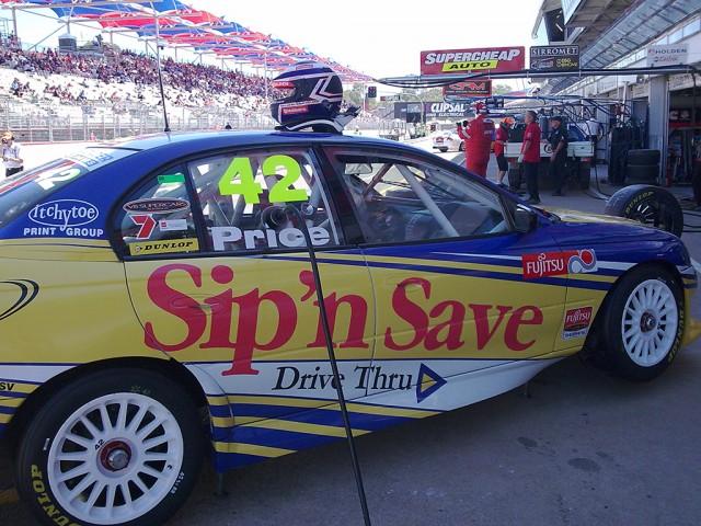 V8 Supercars Shane Price 2009 V2